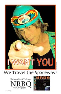I Want You! to travel the Spaceways with the Q